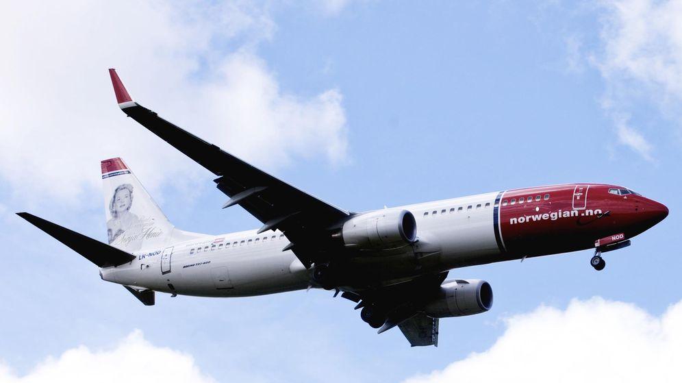 Foto: Imagen de un Air Shuttle Boeing 737-800 de Norwegian en el aeropuerto de Oslo (Reuters)