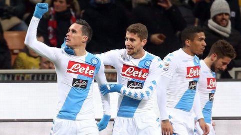 El Nápoles, en crisis de colores al no poder usar la camiseta  'de la suerte'