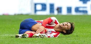 Post de La desgraciada lesión de Joao Félix que enciende todas las alarmas en el Atlético