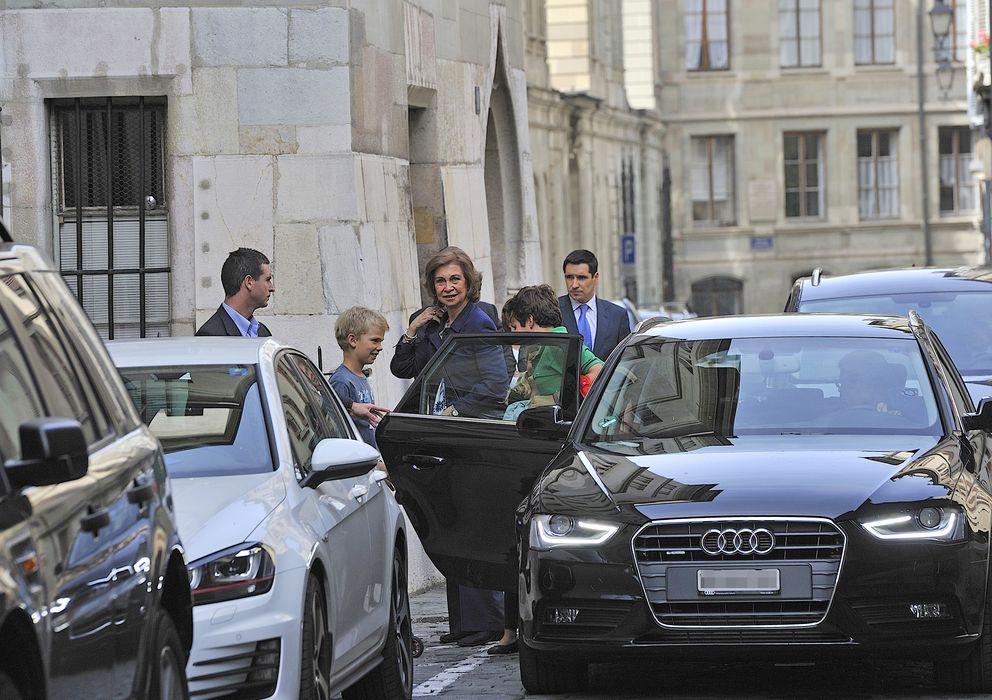 Foto: La Reina Sofía en Ginebra en septiembre de 2013 (Gtres)