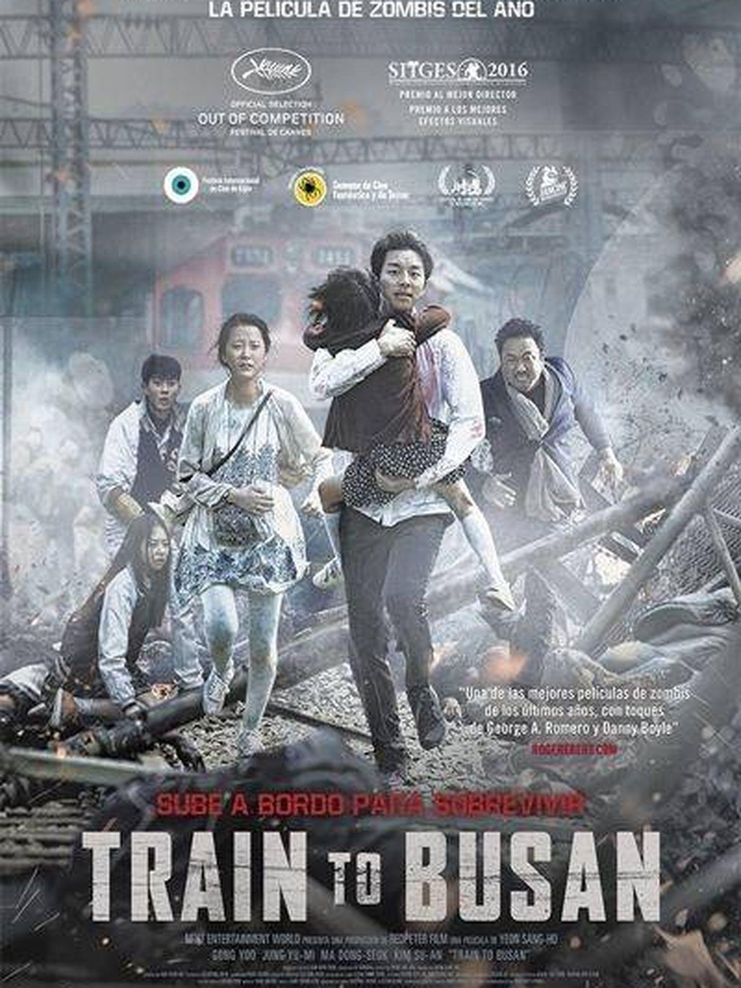 Cartel de 'Train to Busan'.