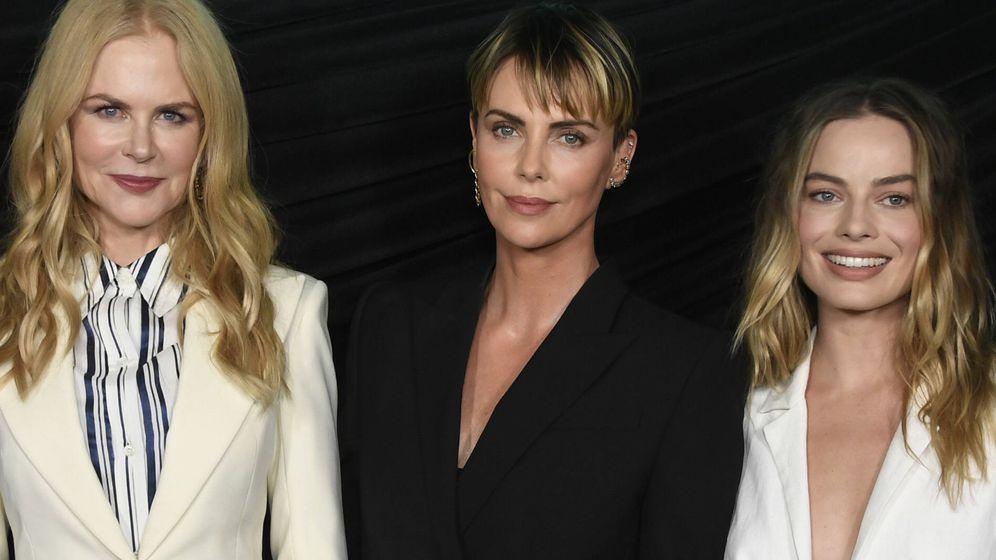 Foto: Nicole Kidman, Charlize Theron y Margot Robbie. (Getty)