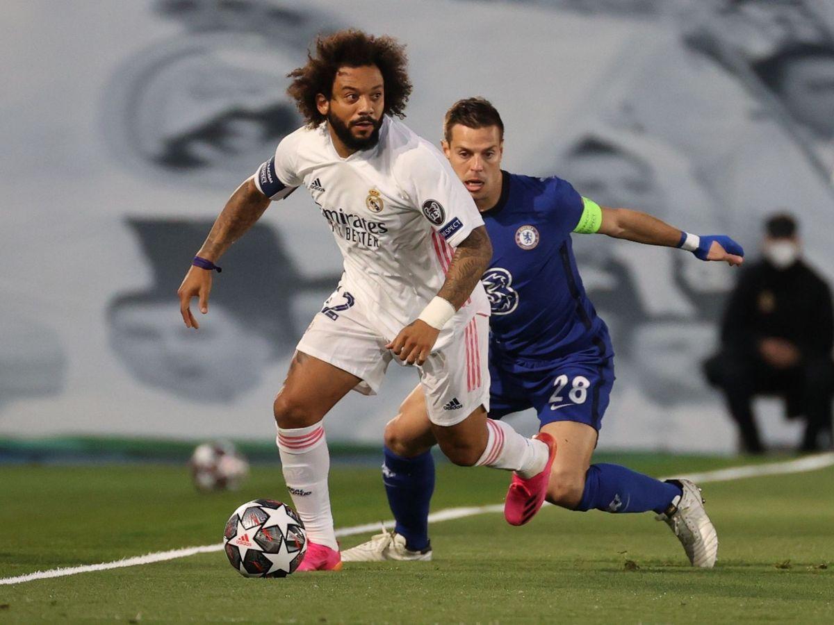 Real Madrid: Una señora voluntaria y un negativo a última hora: Marcelo y  Valverde viajan a Londres