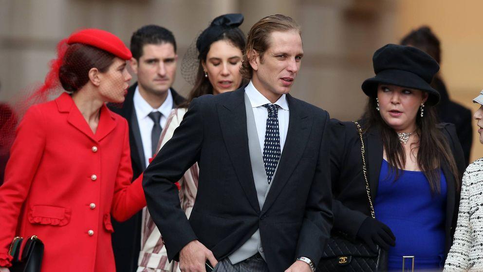 La familia real de Mónaco reunida para celebrar el Día del principado