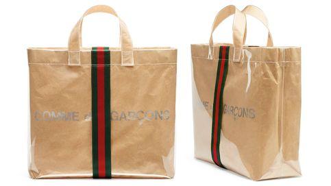 Gucci colabora con Comme des Garçons y lanza un exclusivo bolso
