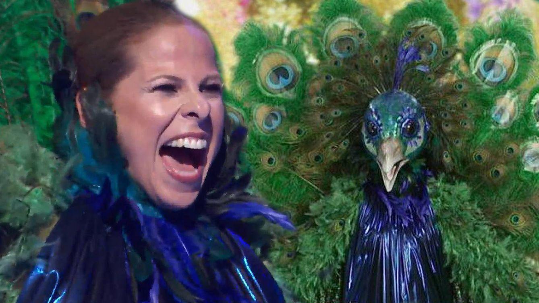 Tirón de orejas de Pastora Soler (Pavo Real) por el triple obstáculo de 'Mask Singer'