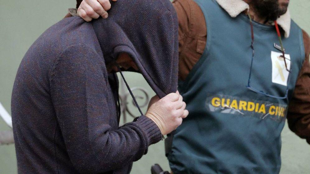 Foto: Tralslado de José Enrique Abuín tras confesar el crimen de Diana Quer. (EFE)