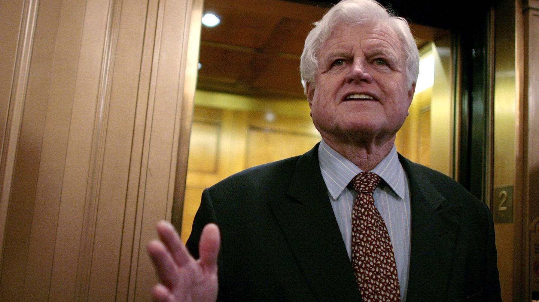El senador Ted Kennedy, en una imagen de archivo. (Getty)