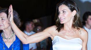 La versión más sexy de la reina Letizia reaparece de concierto en Mallorca