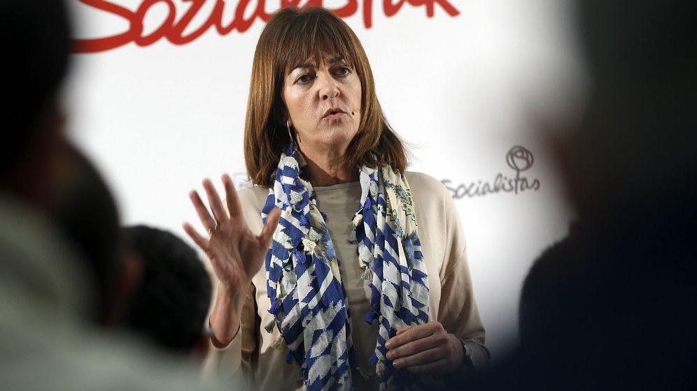 Foto: La secretaria general del PSE-EE y candidata a lendakari por este partido, Idoia Mendia. (EFE)