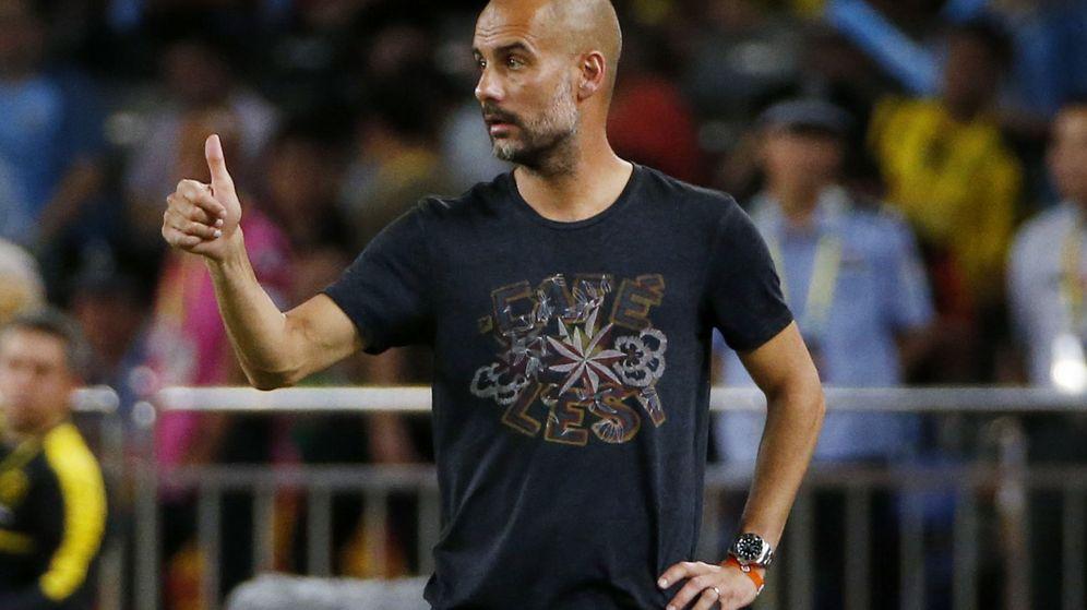 Foto: El entrenador del Manchester City, Pep Guardiola. (Reuters)