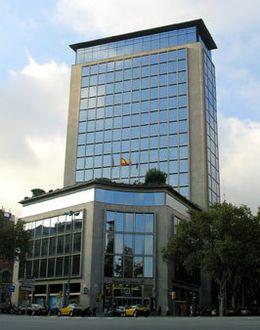 Foto: Antigua sede del Deutsche Bank