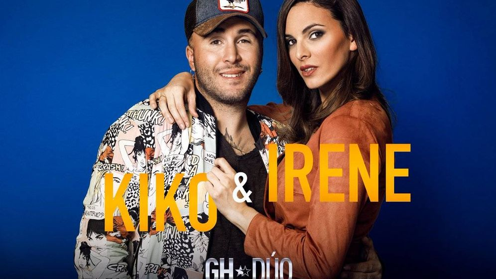 Foto: Kiko e Irene, concursantes de 'GH Dúo'. (Mediaset)