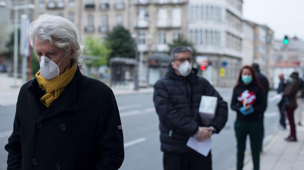 Foto: Situación de la pandemia por coronavirus en Ourense. Foto: Efe