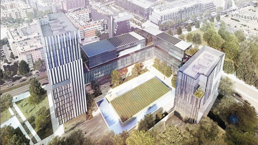 Así es el modernista campus de oficinas que levantará Colonial en Méndez Álvaro
