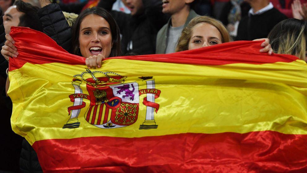 Las mejores imágenes del debut de Luis Enrique con España