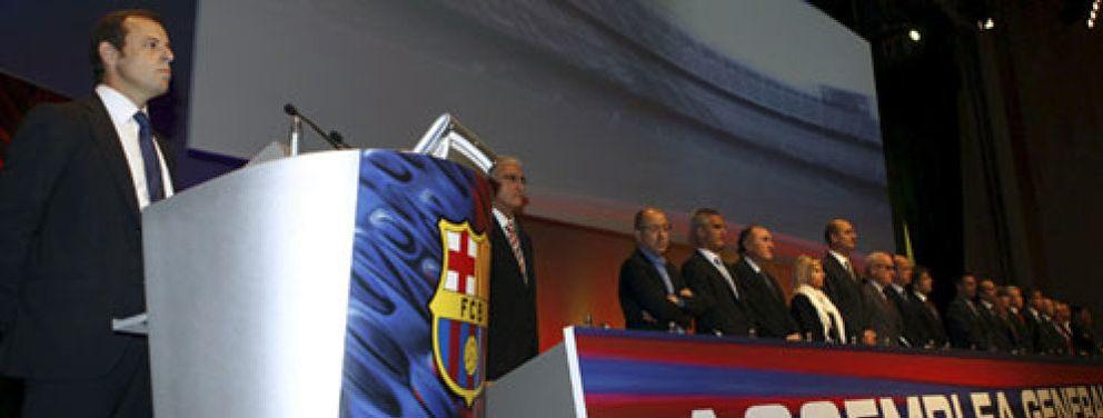 """Rosell a la Asamblea: """"Tenemos una deuda muy elevada a todos los niveles, de más de 400 millones de euros"""""""