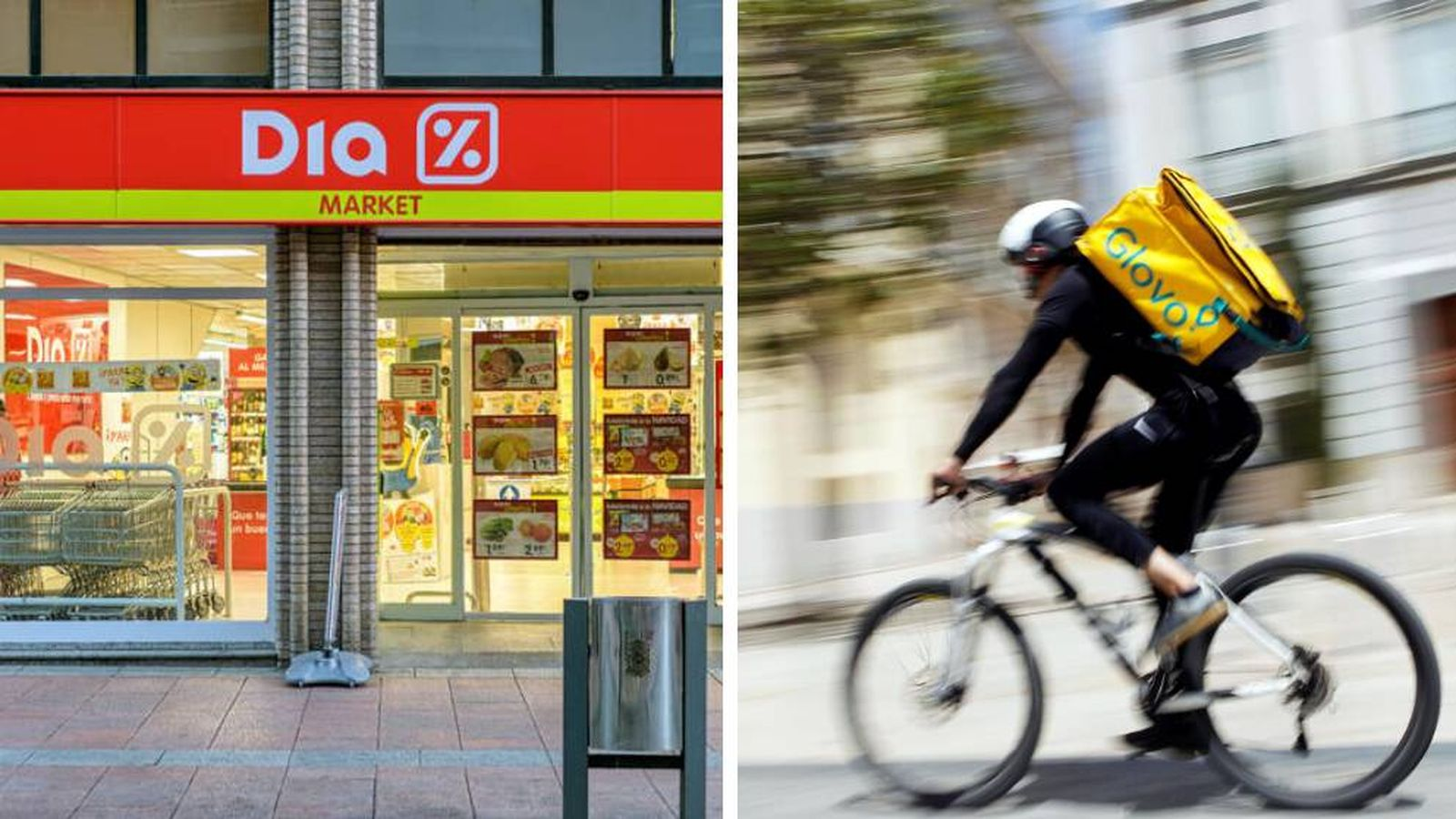 Dia amplía su servicio de compra 'online' y se une a Glovo: repartirá desde 500 tiendas