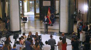 La frase que logró perturbar al aspirante Mariano Rajoy