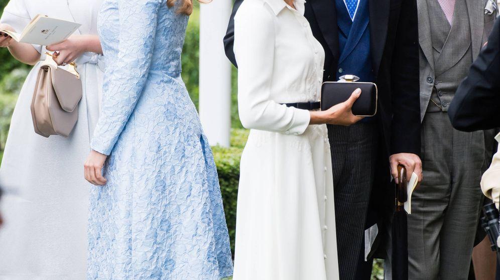 Foto: Los duques de Sussex y las hermanas York, en una imagen de archivo. (Getty)