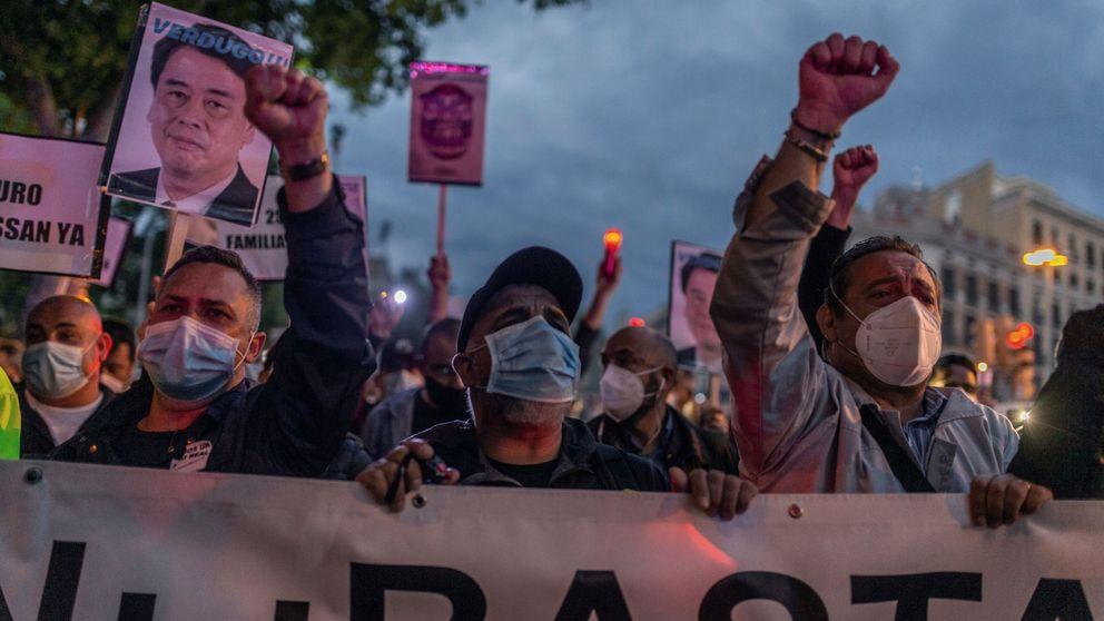 ¡Nissan no se cierra!: protesta nocturna de mil empleados contra la clausura de la planta
