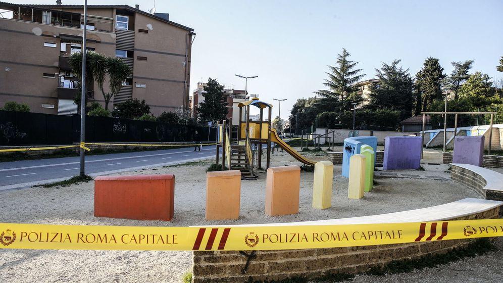 Foto: Parques cerranos en Roma. (Efe)