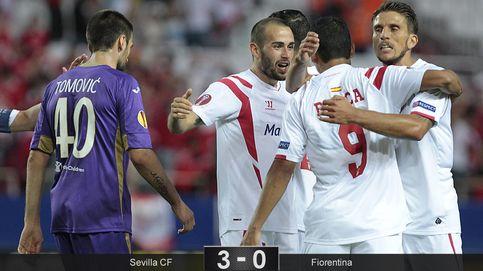 El Sevilla consigue un botín de oro ante la Fiorentina y se acerca a la final