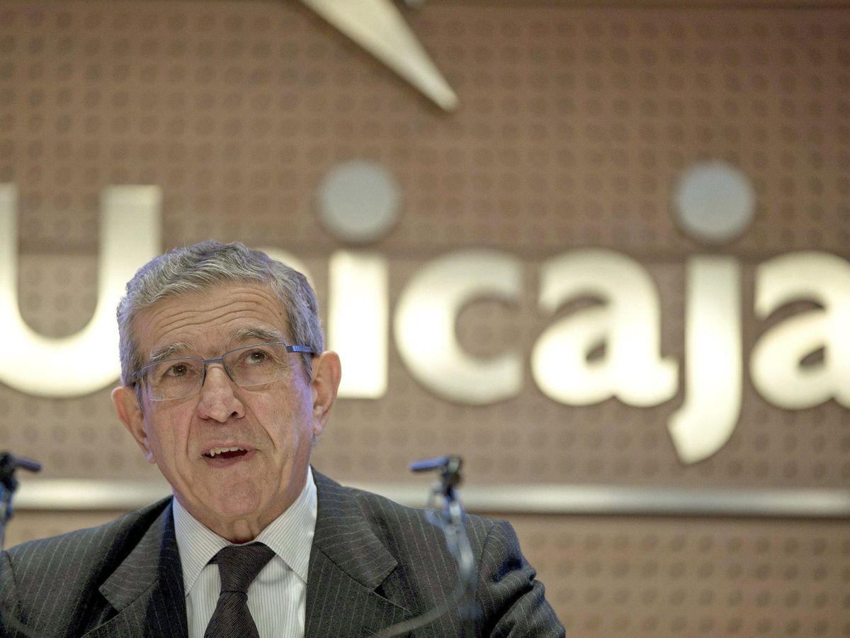 Foto: Braulio Medel, presidente de la Fundación Unicaja. (EFE)