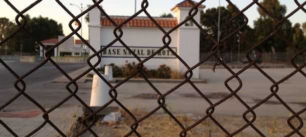Foto: Base de Rota. (FOTO: Agustín Rivera)