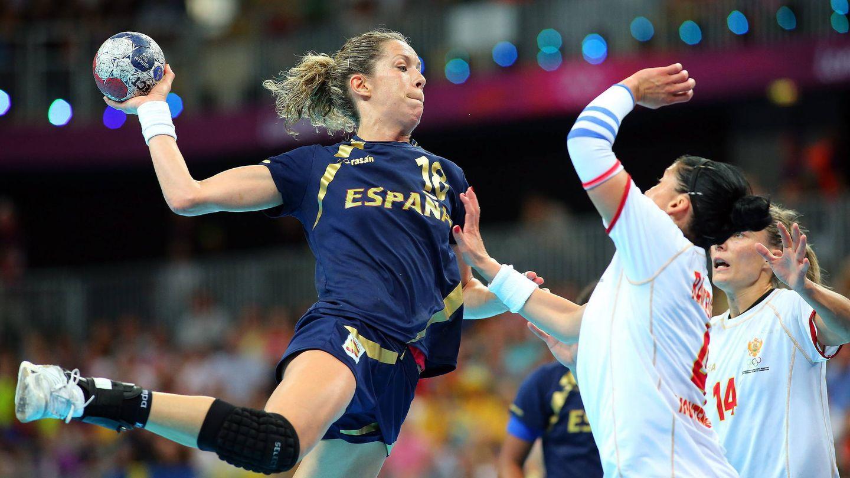 Begoña Fernández, en el partido ante Montenegro de los Juegos Olímpicos (Reuters).