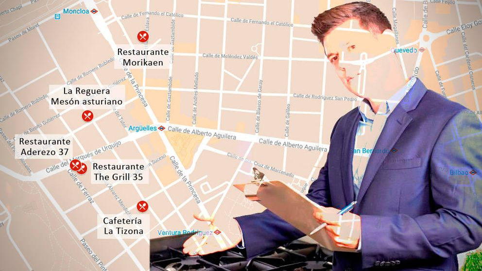 El eje del asco: cinco bares en Madrid que hacen pleno en la inspección de Sanidad