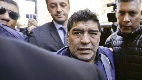 La fuerte bronca entre Maradona y su novia en un hotel de Madrid
