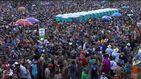 Pelea multitudinaria en el Carnaval de Brasil