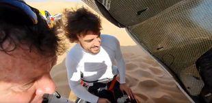 Post de El vacile de Jesús Calleja a Fernando Alonso en el desierto: