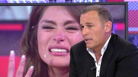Carlos Lozano y Hugo Castejón, a gritos en Telecinco por Miriam Saavedra