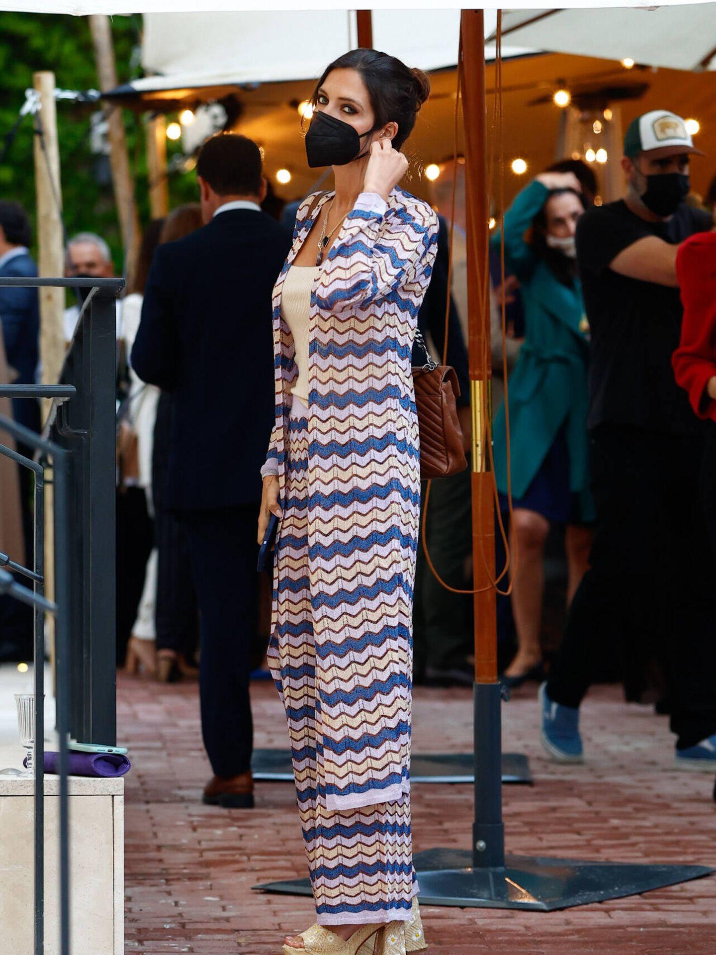 Sara Carbonero, durante la inauguración. (Gtres)