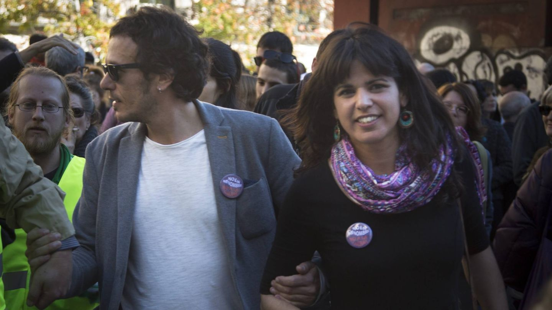 Kichi y Teresa Rodríguez. (Cordon Press)