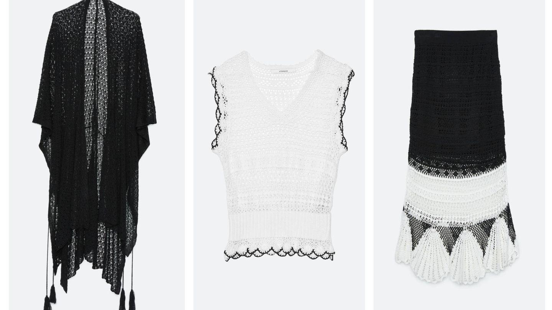 Las tres prendas del look de Uterqüe. (Cortesía)