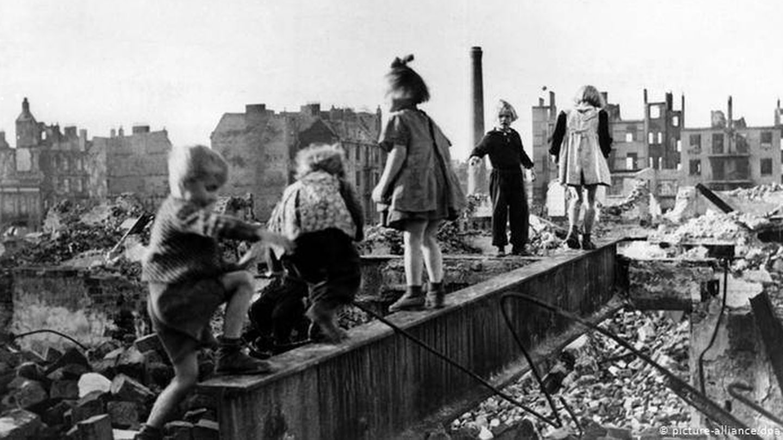 La devastación de las ciudades