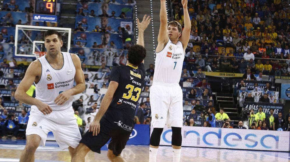 Foto: Luka Doncic fue el máximo anotador del Real Madrid en la victoria ante Iberostar Tenerife en Copa del Rey. (ACB Photo)