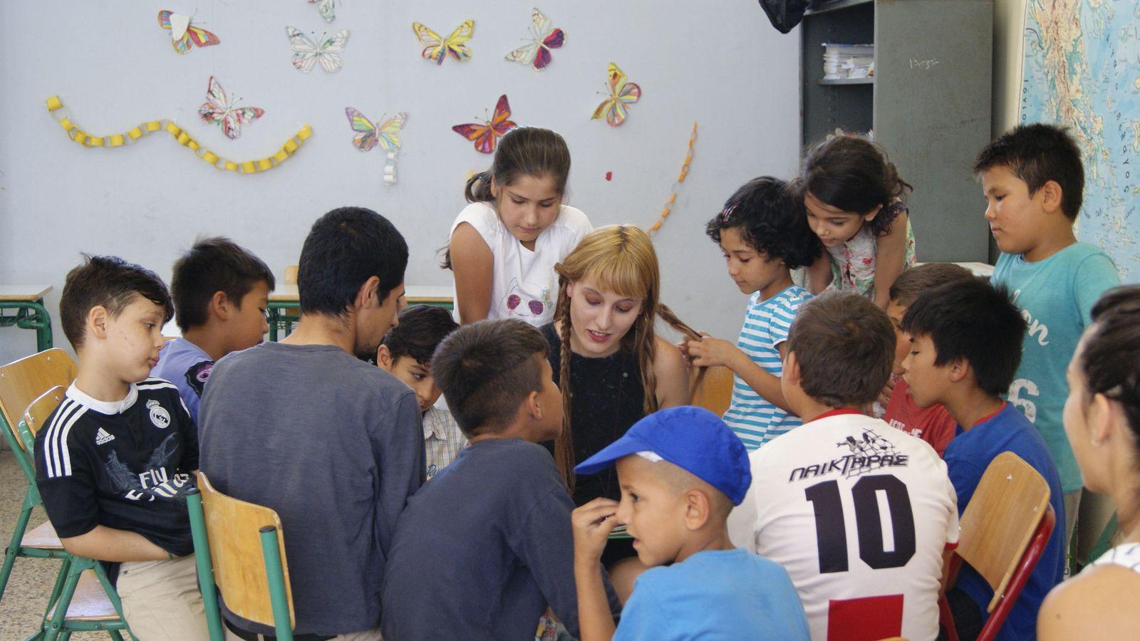 Foto: Un aula escolar (EFE)