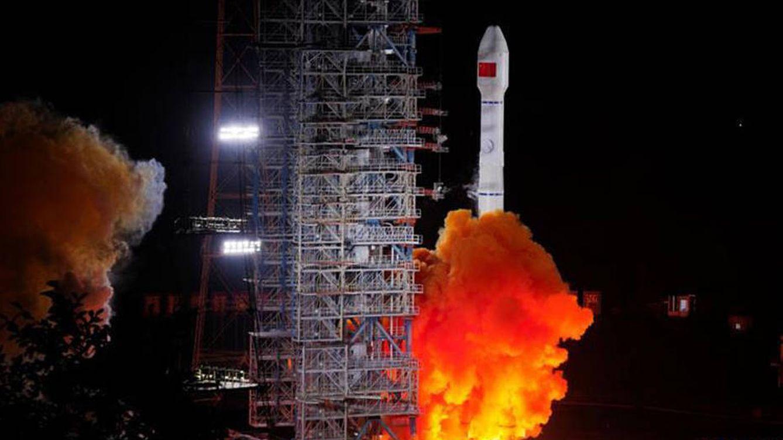 Foto: Cohete chino. Foto: Administración Espacial Nacional China