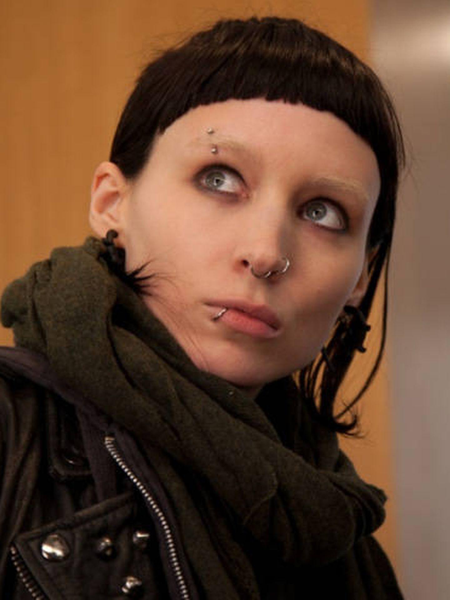 Rooney Mara, en una escena de la saga 'Millennium'. (Columbia Pictures)