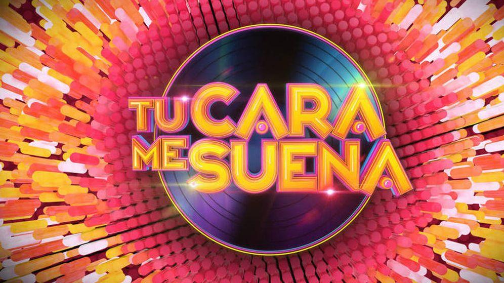 Foto: Logotipo de la sexta edición de 'Tu cara me suena'.