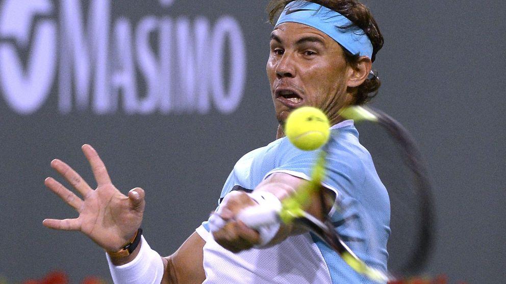 Nadal sufre para ganar a Muller y se medirá a Verdasco en Indian Wells