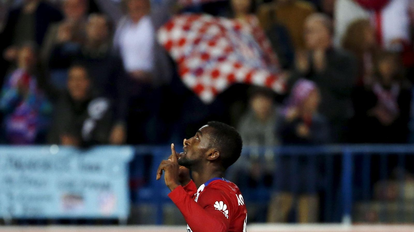 Foto: Jackson sólo marcó un gol en Liga en el Calderón, al Valencia (Reuters/Sergio Pérez)