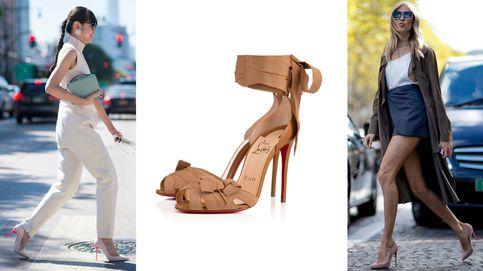 20 sombras de zapatos nude perfectas para cualquier tono de piel