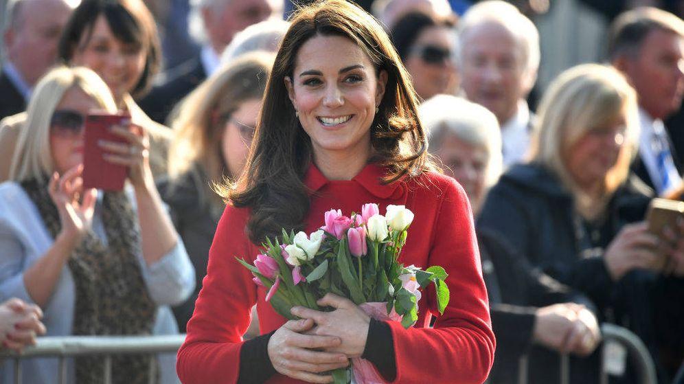 Foto: Kate Middleton en Belfast. (Getty)