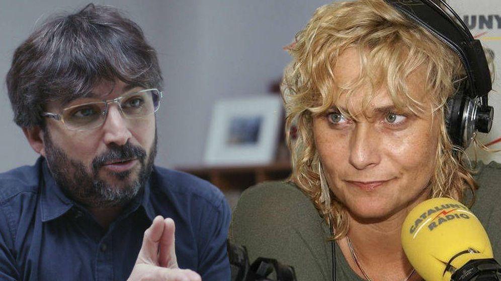Foto: Jordi Évole y Mónica Terribas.