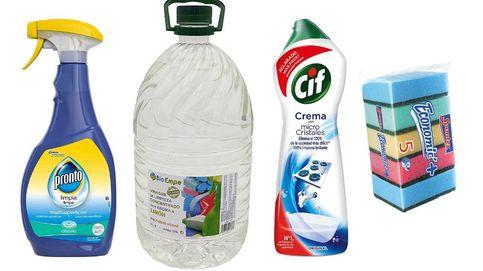 Productos de higiene para desinfectar y limpiar bien toda la casa